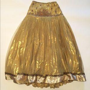 Vintage High Waist Tutu Style Evening Dress Skirt
